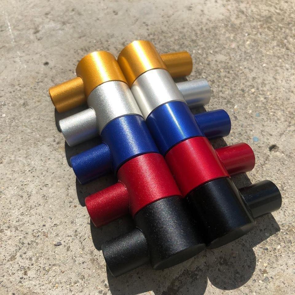 bolt  For Brompton 1PC M8X70mm Titanium Stem Vertical Pipe Hanging Heart Screw