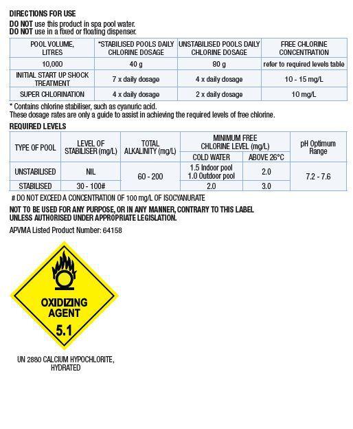 Pool Chlorine 10 Kg High Quality Pool Chlorine Low Residue Premium Chlorine Ebay