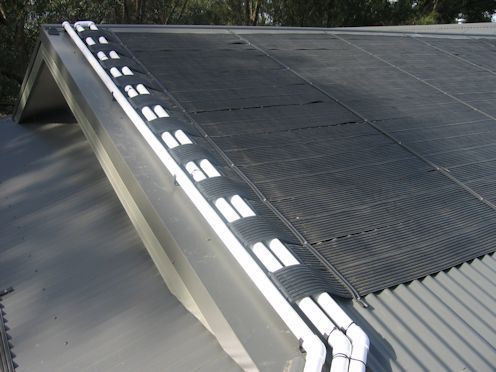 Solar heating example