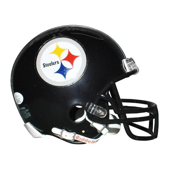 Franco Harris Autographed Pittsburgh Steelers Full-Size Football Helmet JSA COA