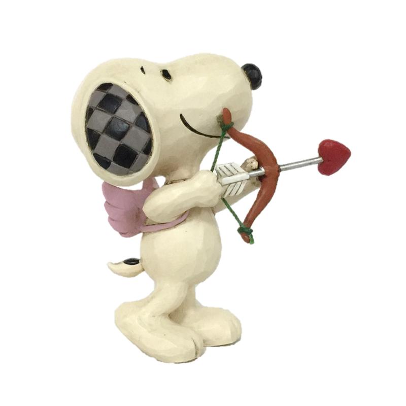 Jim Shore 6005950 Snoopy Mini Love 2020 NEW Peanuts Valentines Day