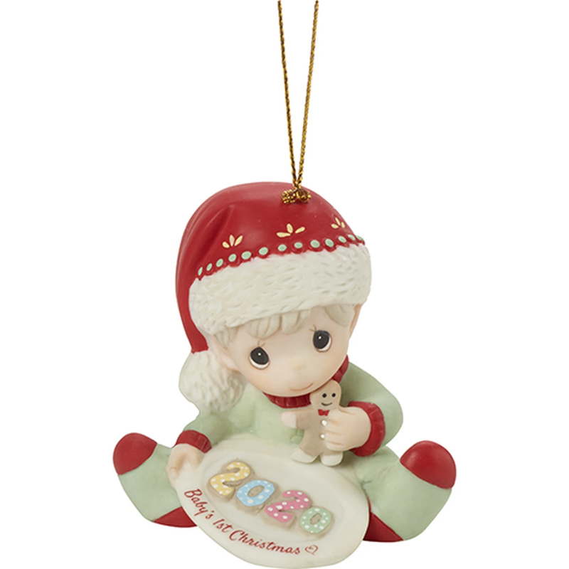 Precious Moments Babys First Christmas Ornament 2020 Precious Moments 201006 2020 Baby's 1st Christmas   Dated Boy