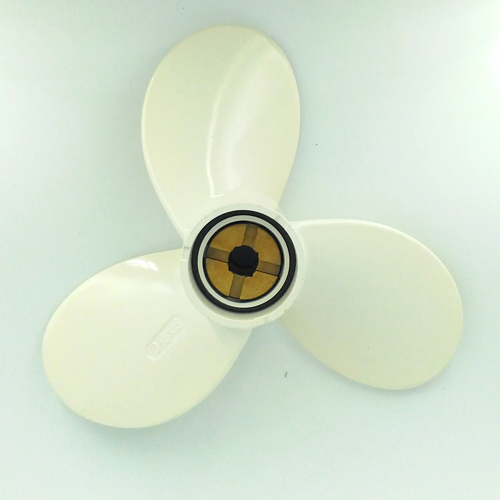 SSI MARINE 7 1//2 Propeller for Yamaha outboard 8 1//2 x 7 1//2 N 6hp 8 hp 6G1-45943-00