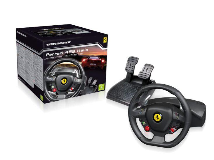 Thrustmaster Ferrari 458 Italia Steering Racing Wheel for Xbox 360