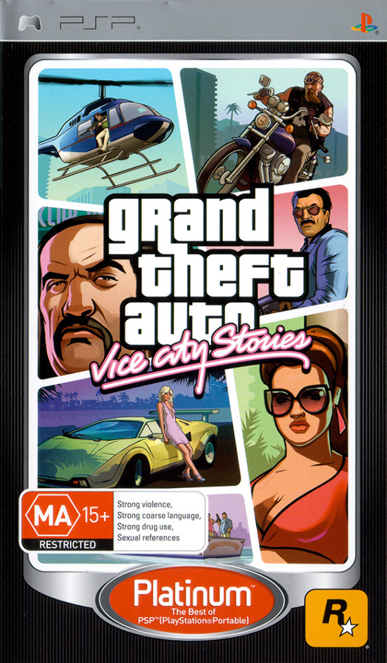 Details about Grand Theft Auto GTA Vice City Stories PSP Game NEW