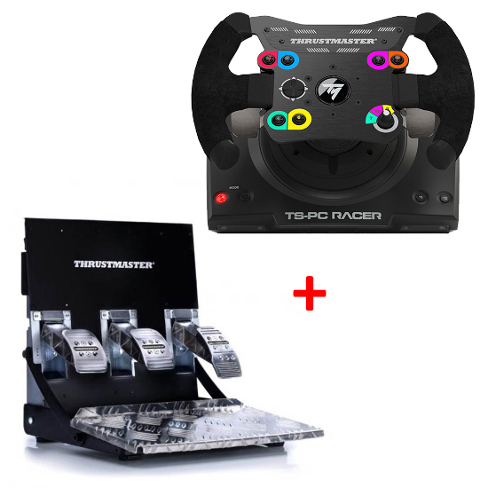 thrustmaster ts pc racer racing wheel for pc with t3pa pro. Black Bedroom Furniture Sets. Home Design Ideas