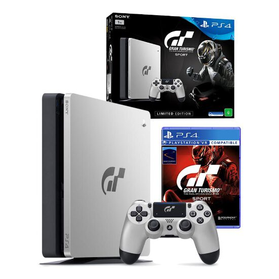 playstation 4 slim 1tb gran turismo sport edition console. Black Bedroom Furniture Sets. Home Design Ideas