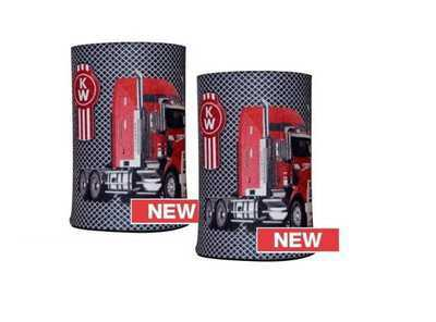 BNWT Official Genuine Kenworth Merchandise Black Collapsible Can Stubby Holder