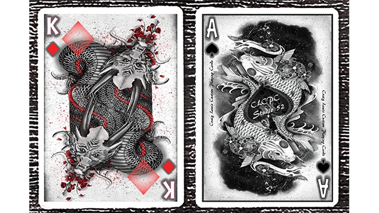 Clockwork Empire Playing Cards by fig.23 Poker Spielkarten Cardistry
