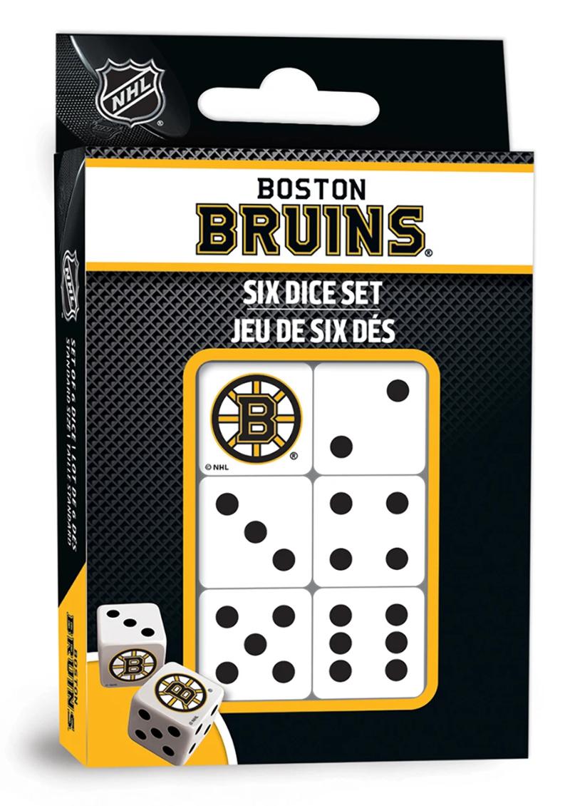 Boston Bruins Dice Set … NHL