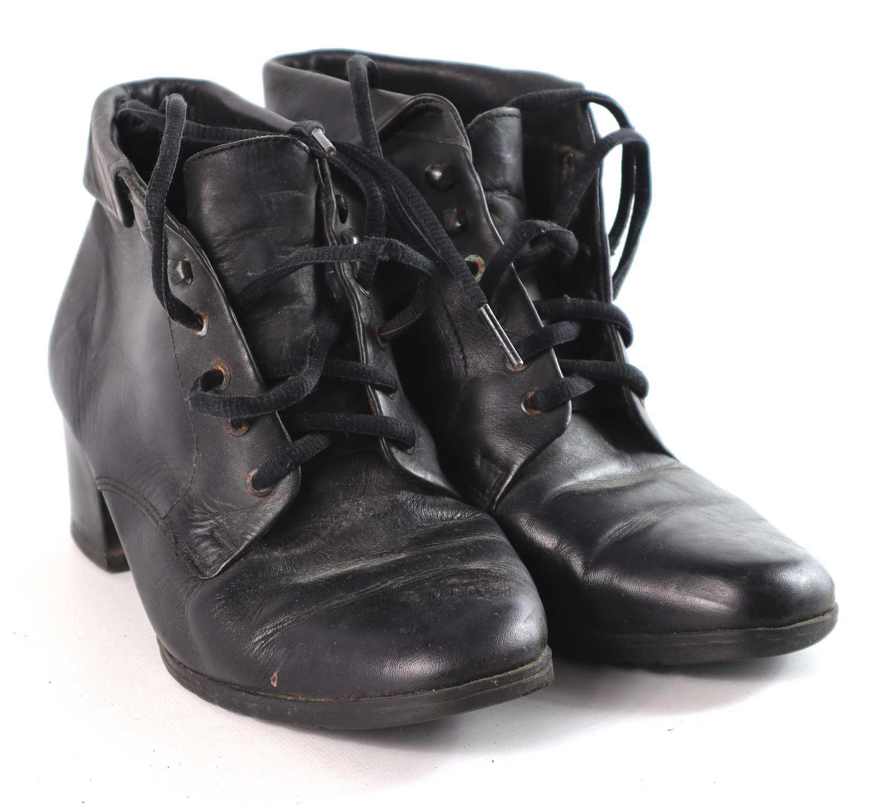 Shoe Zone Womens EU Size 38 Black Ankle