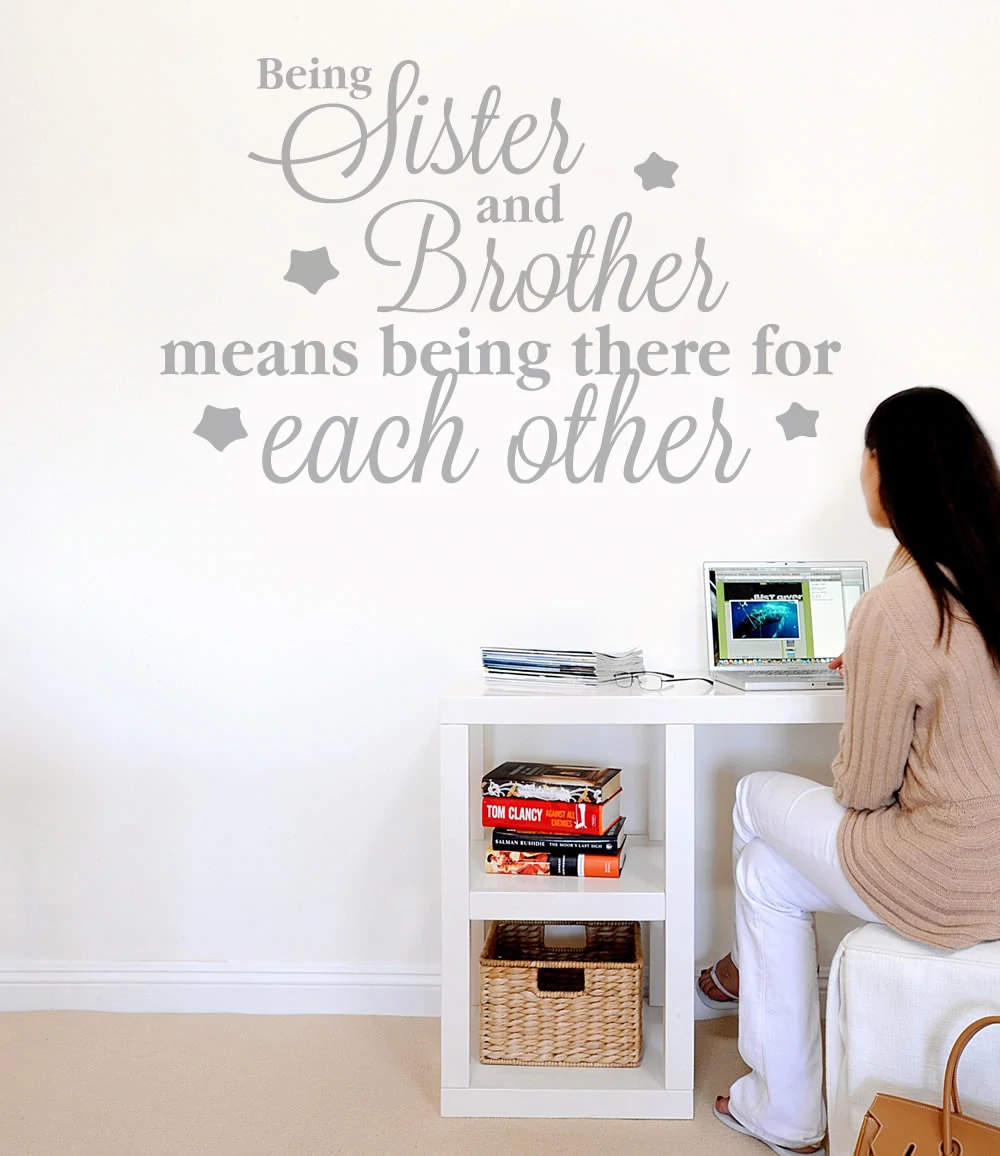 8x10 I Am Being Promoted To Big Sister Brother Burlap Print Sign UNFRAMED