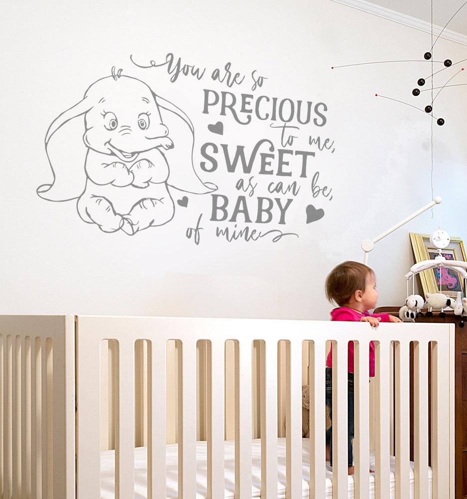 Ne pas compter les jours Autocollant Mural Mur Chick Decal Art Sticker Citation