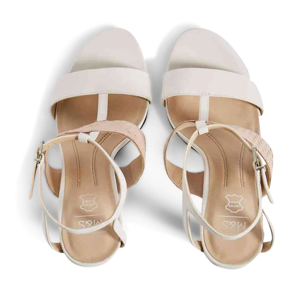 Ex Marks /& Spencer M/&S COLLECTION T022970 Leather Two Band Sandals RRP £45