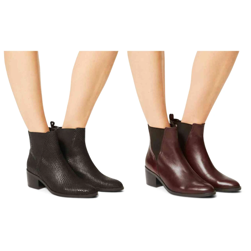 aesthetic appearance 2020 vast selection Details about Marks & Spencer T026365W M&S Collection Wide Fit Leather  Chelsea Ankle Boots £65