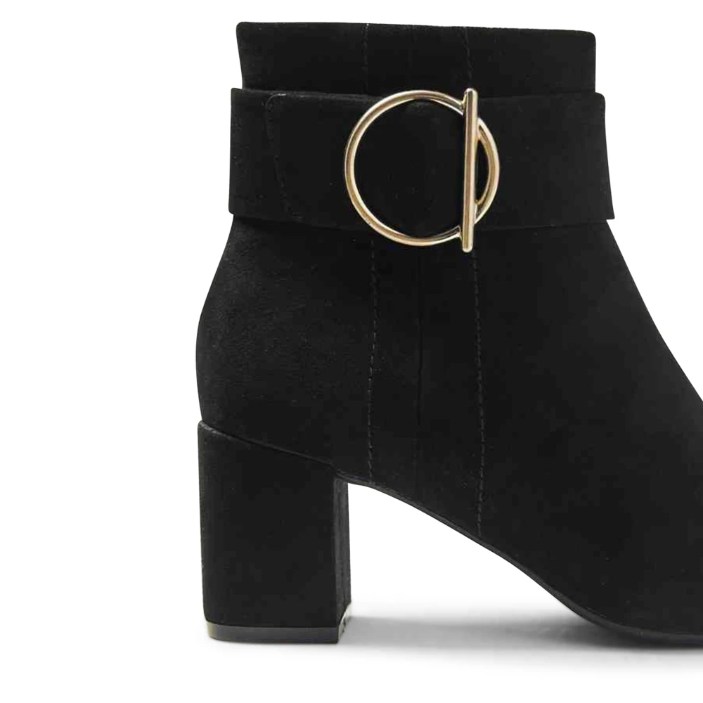 Marks /& Spencer T027131W M/&S Collection Wide Fit Side Buckle Ankle Boots RRP £45