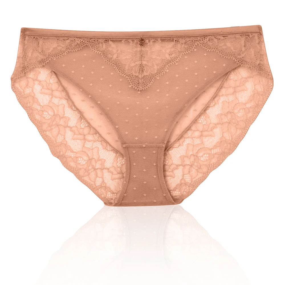 M/&S Rosie for AutographSpot Mesh /& Lace Brazilian Knickers Size 24