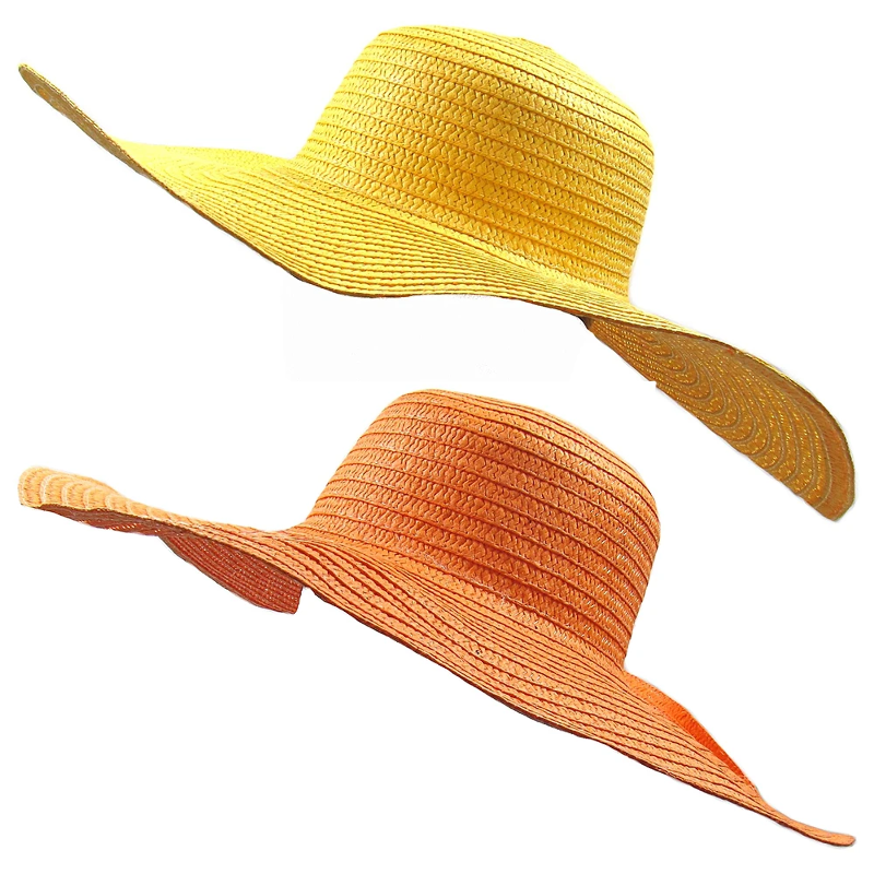 a1f052f8b Details about Giant Oversize Floppy Straw Sun Summer Holiday Fashion  Marbella Hat