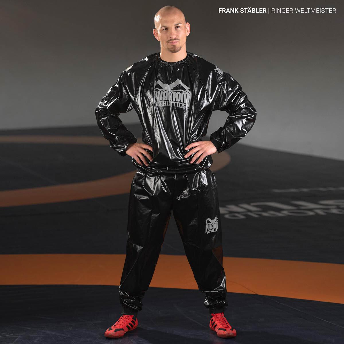 L-3XL Schwitzanzug Saunaanzug Sauna Suit Anzug Sweat Gewicht abnehmen Fitness