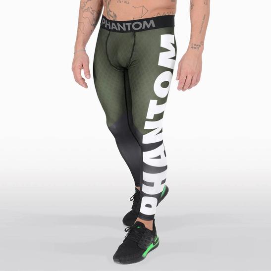 PHANTOM Herren Tights DominationLeggings Functional Fitness Training Workout
