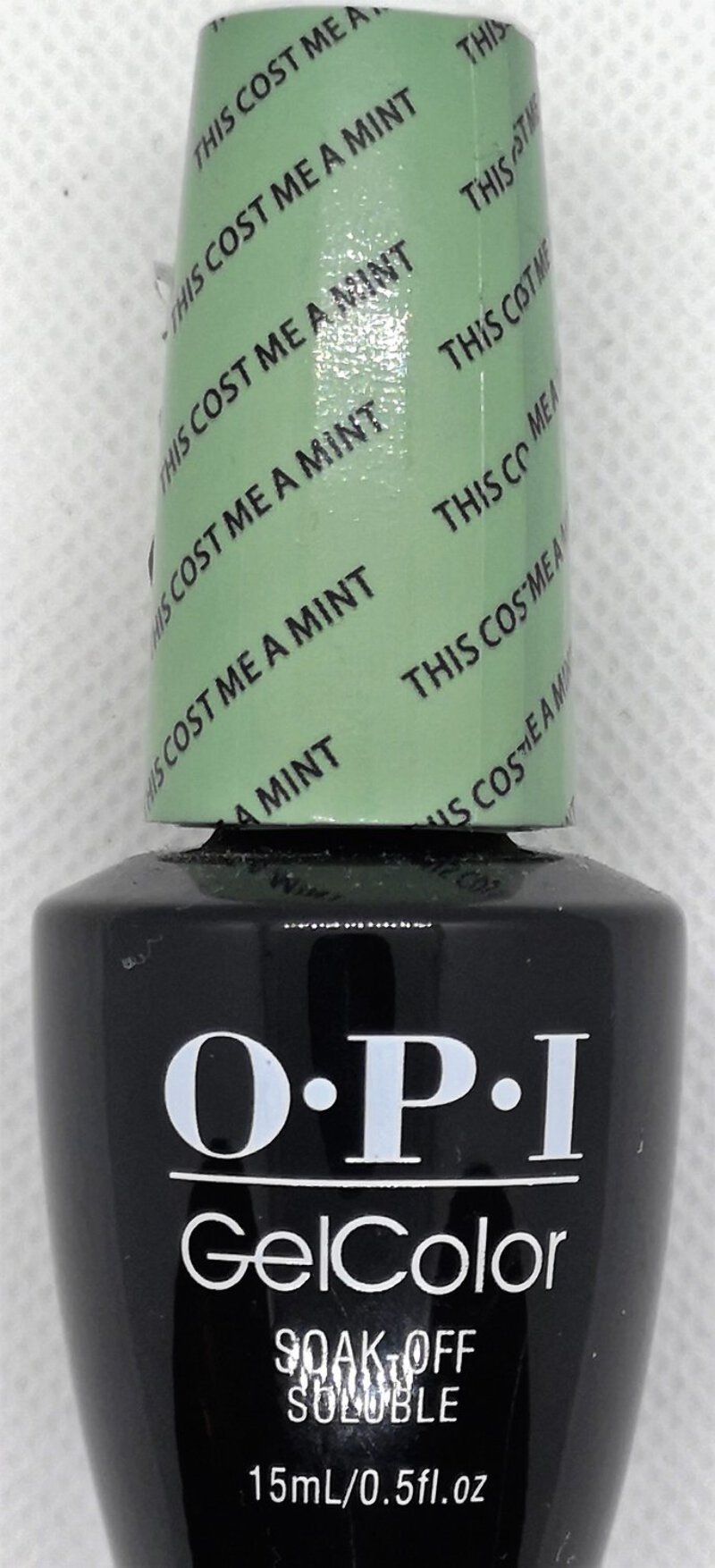 Details about This Cost Me a Mint | OPI GelColor UV LED Nail Polish