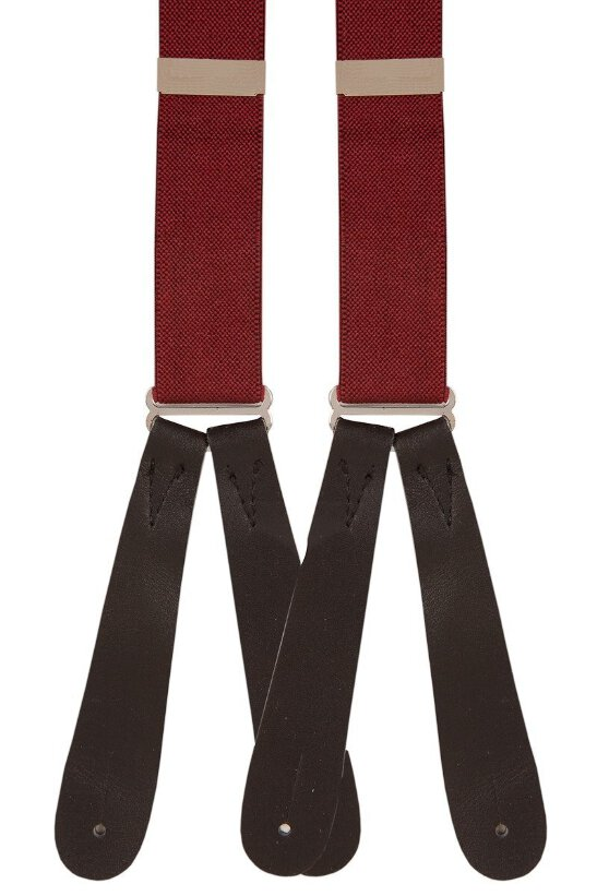 mens  vintage braces red   CLASSIC DESIGN MADE IN UK retro belts black braces