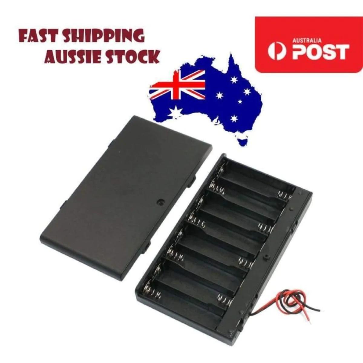 6V Battery Holder Box Inline 4 x AA