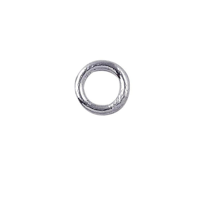 Silver Overlay Closed Jump Ring JCSF-100-5MM