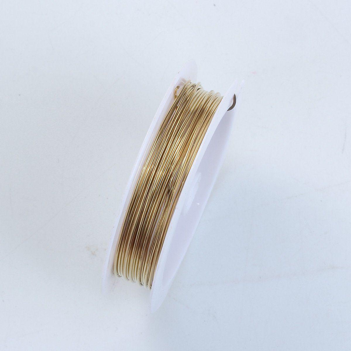 18K Gold Overlay Wire WG-100-28G