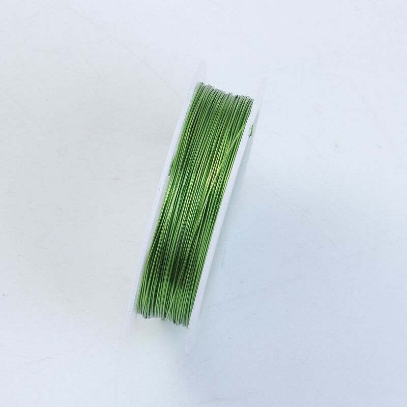 Light green color wire 26 gaugethickness 04mm wlg 101 26g light green color wire 26 gaugethickness 04mm wlg 101 26g keyboard keysfo Choice Image