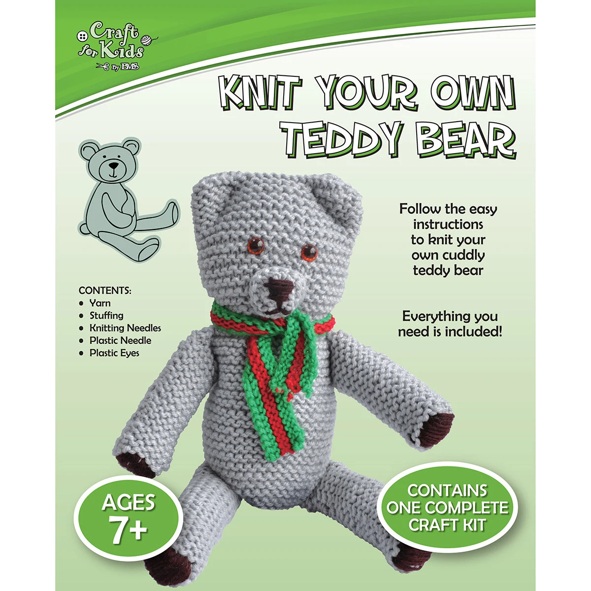 Knit your own Teddy
