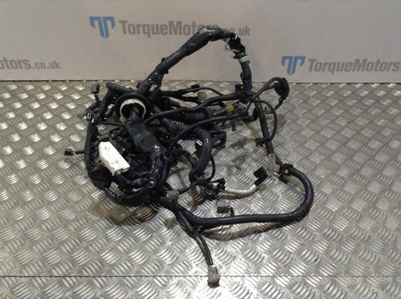 Details about Nissan Gt-R R35 Skyline Engine Wiring Loom harness 24011 on