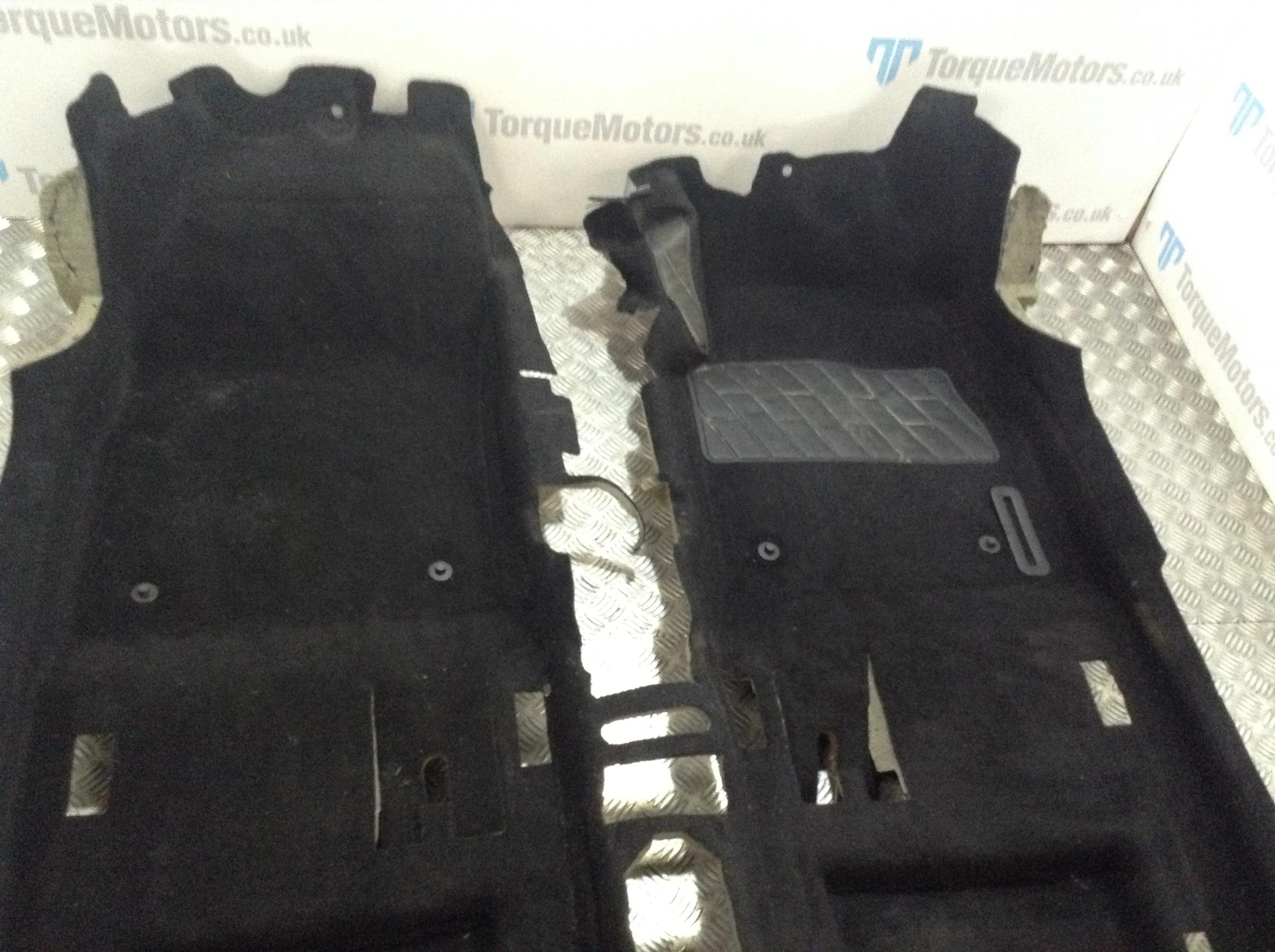 BLACK /& STITCHED EDGES VAUXHALL ASTRA J GTC VELOUR FLOOR CARPET MATS GENUINE