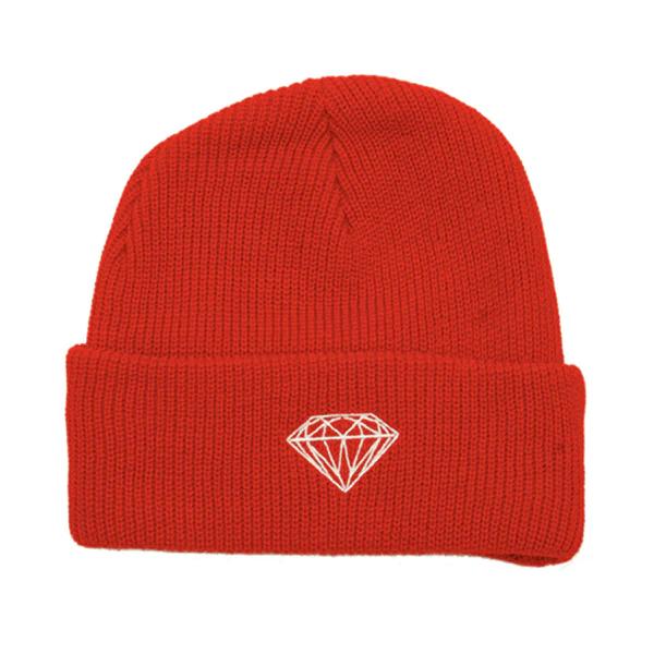 1a147441e18 ... ireland diamond supply co. brilliant fold beanie hat black navy heather  red afaf8 bc86e
