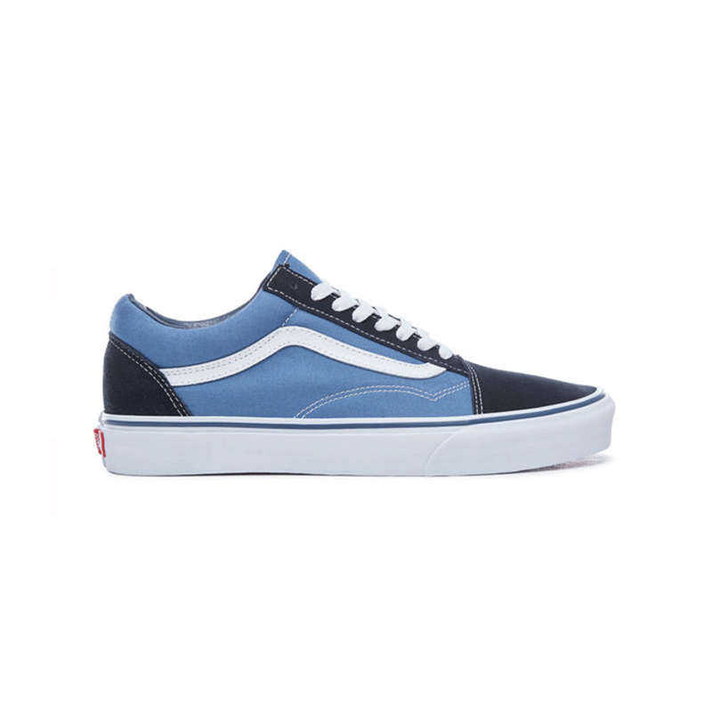 Details about Vans Old Skool Trainers Navy White