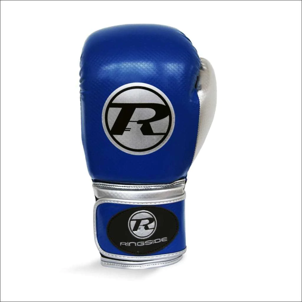 Pro Fitness RED//GOLD Gloves Synthetic Leather RINGSIDE