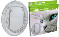 Cat Flap Door Double Glazed Glass Fitting