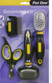 Cat Brush Comb Nail Trimmer Grooming Kit Set