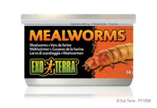 Exo Terra Canned Mealworms Reptile Herp Food