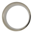 Click for larger image of Titanium Wedding Ring - Flat - Brushed Finish - Width: 8mm