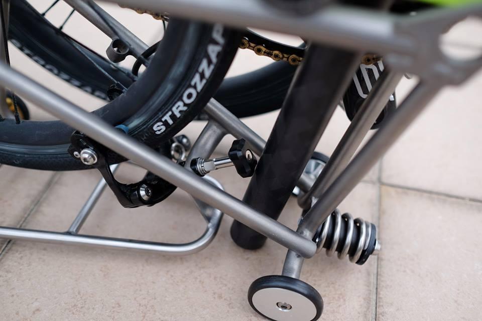 AGEKUSL Titanium Ti Bolts Screws Full Set Brake Seatpost Bolts For Brompton Bike