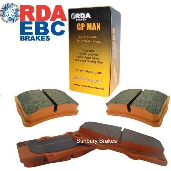 Ford Laser brake pads 1985 to 1990 front  db406
