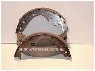 Holden TORANA BRAKE SHOES rear LC , LJ  Models  Disc/Drum 1969 to 1972  N1132