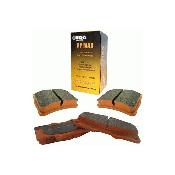 ford falcon  xe xf  brake pads 1982 to 1988 rear  db1078