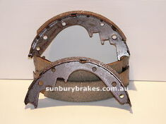 Holden HR BRAKE SHOES front  HD HR Models 1965 to 1967 N1172