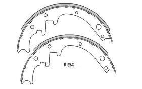 Ford Falcon BRAKE SHOES front 1966 to 10/1975 R1270