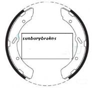Mitsubishi CANTER BRAKE SHOES rear  FE211E Models  1981 to 1984 N1562