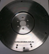 Ford XR6 Turbo Steel Billett FLYWHEEL 1 Piece Lightened 9.6kg NPC Aust Made RNF10