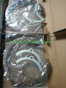 Ford Falcon Hand Brake Shoes , BA BF Models 9/2002 to 4/2008 R2169x2