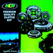 Ford Laser CLUTCH KIT KE TURBO 1.6 LTR 10/1987 to 12/1990 KIK22501